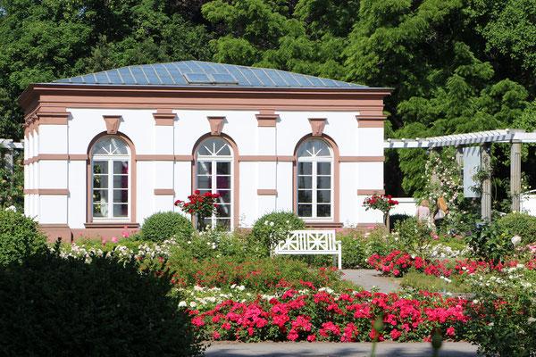 Das Haus Rosenbrunn im Palmengarten Frankfurt