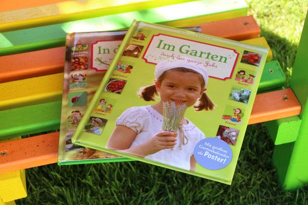 """das Buch """"Im Garten durch das ganze Jahr"""""""