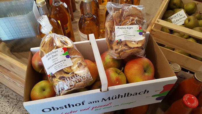 Unser Einkauf beim Obsthof am Mühlbach