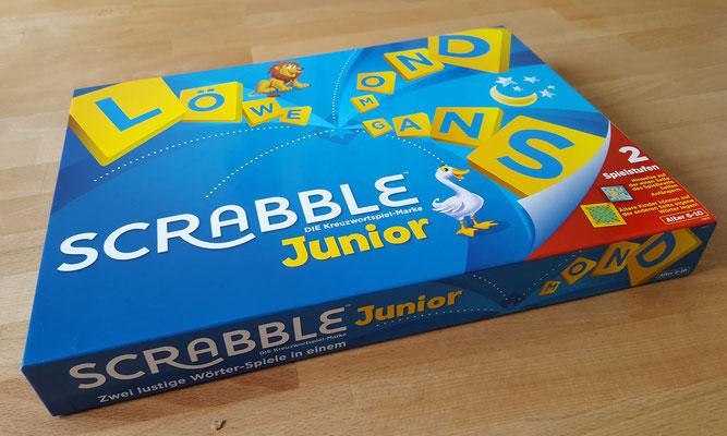 Wir spielen Scrabble Junior