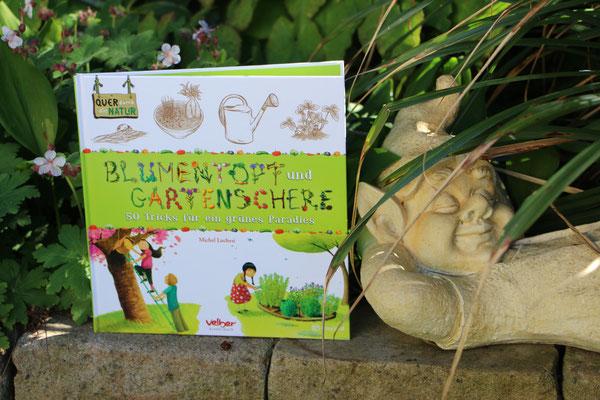 """Das Buch """"Blumentopf und Gartenschere"""" in unserem """"Waldbeet"""""""