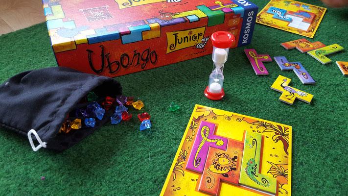 """Wir spielen """"Ubongo"""" aus dem Kosmos-Verlag"""