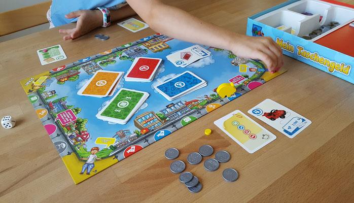 """Wir spielen """"Mein Taschengeld"""" von noris"""