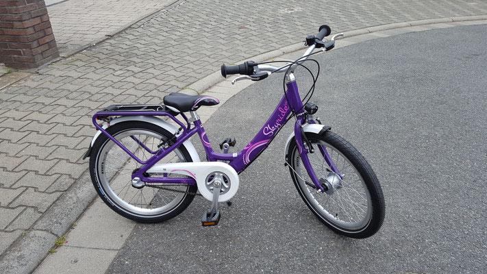 Das neue Puky-Fahrrad unserer Großen