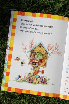 """Die Buchstaben- und Leserätsel im Buch """"Erdbeerinchen Erdbeerfee - Im Erdbeergarten ist was los"""""""
