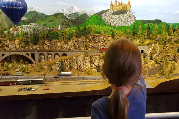 Modelleisenbahnen beim Dampflokfest Kranichstein