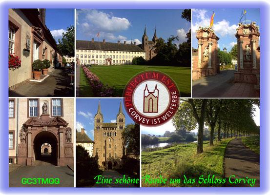 Rund um Schloss Corvey, Höxter