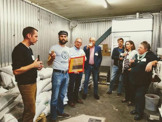 Brauerei-Führung in der Wildwuchs Brauerei