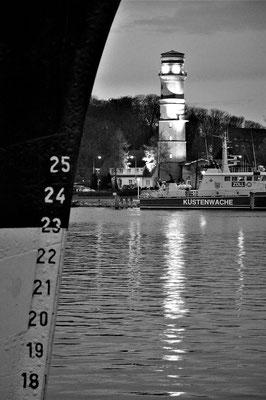 Bild 1: Abendstimmung am Leuchtturm