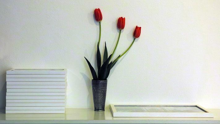 Bild 4 - Drei Tulpen