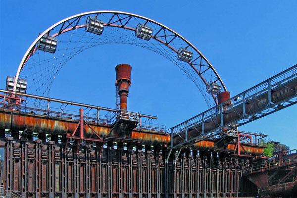 Bild 1 - Industrieriesenrad
