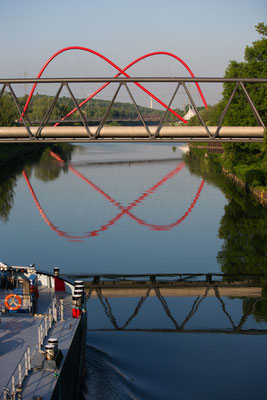 Bild 2 - Am Kanal um halb acht