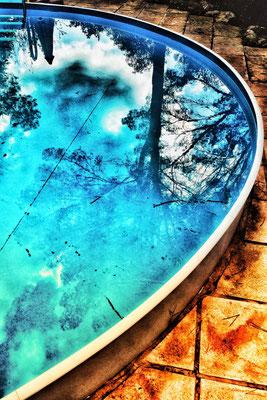 Bild 8: Am Pool