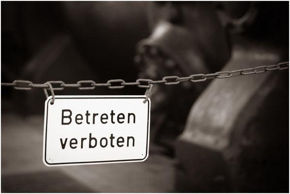 Bild 5 - Betreten verboten