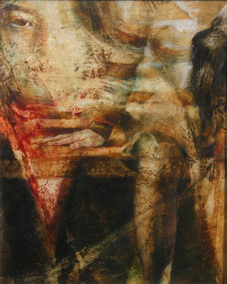 IL POSTO VUOTO,series. 2011, 30x24, olio su tela.