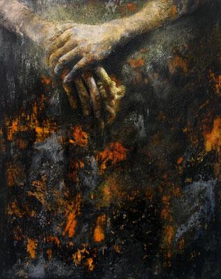 Have mercy on my soul. 2014, 50x40, olio su tavola.