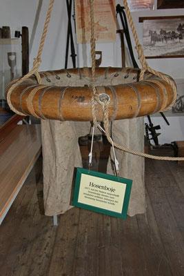 Hosenboje im Seenotrettungsmuseum