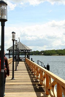 Steg auf den Ruppiner See