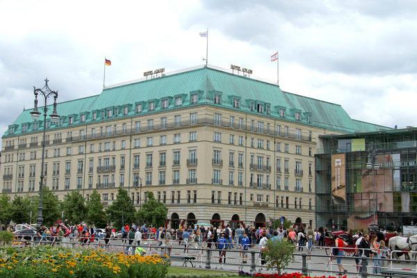 Das geschichtsträchtige Hotel Adlon