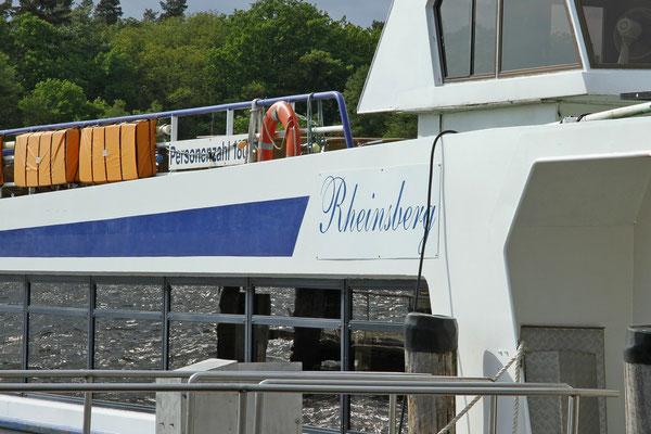 Schiffahrt in Rheinsberg