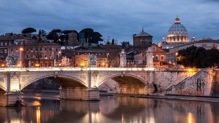Roma - Veduta da Ponte Sant'Angelo
