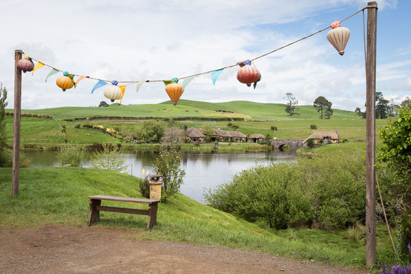 Hobbiton Movie Set - New Zealand - Nuova Zelanda
