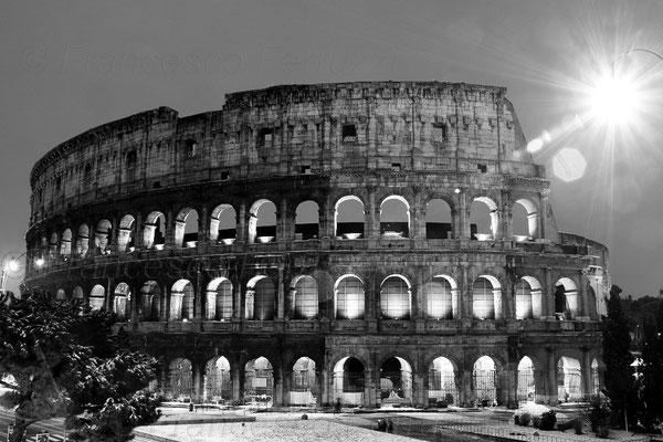 Colosseo dopo la nevicata del 2012 - Roma