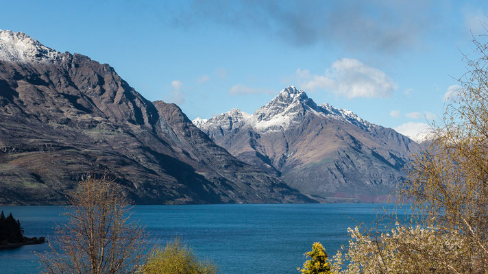 Queenstown, lago Wakatipu - New Zealand - Nuova Zelanda
