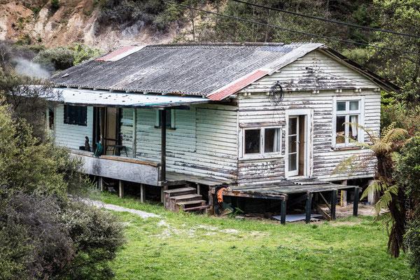 Abitazione in un villaggio Maori a Rotorua - New Zealand - Nuova Zelanda