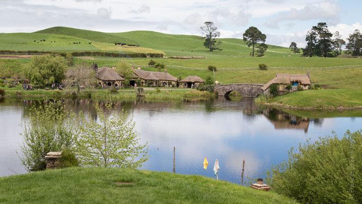 Hobbiton Movie Set - New Zealand - Nuova Zelanda