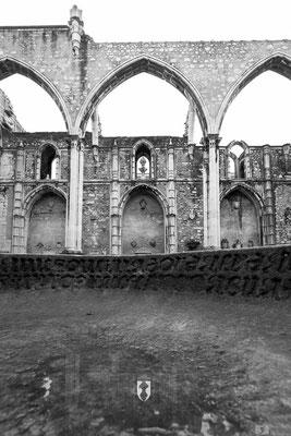 Particolare - Igreja Do Carmo (Chiesa del Carmine) a Lisbona