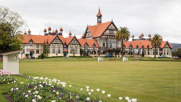 Il museo di Rotorua - New Zealand - Nuova Zelanda