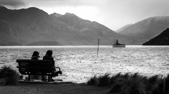 Queenstown, lago Wakatipu - New Zealand - Nuova Zelanda