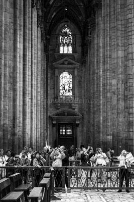 Interno del Duomo di Milano - Lombardia