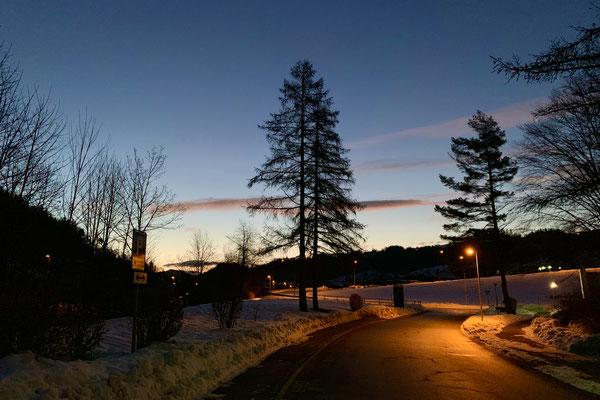 Strasse zum Altlandenbergschulhaus Bauma