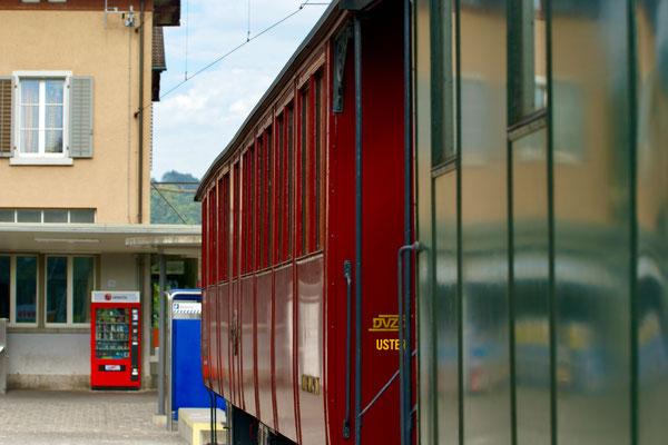Am Bahnhof Bauma