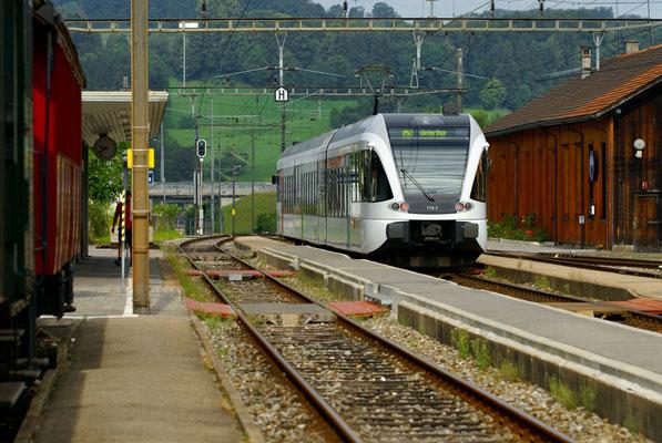 Einfahrt S-Bahn