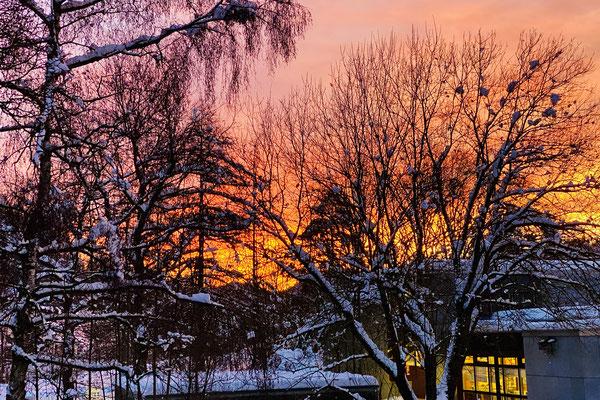 Morgenrot beim Altlandenberg