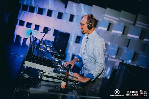 DJ Chris Shap im Admiral Gießen
