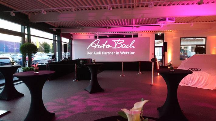 Neueröffnung nach Umbau Auto Bach, Wetzlar