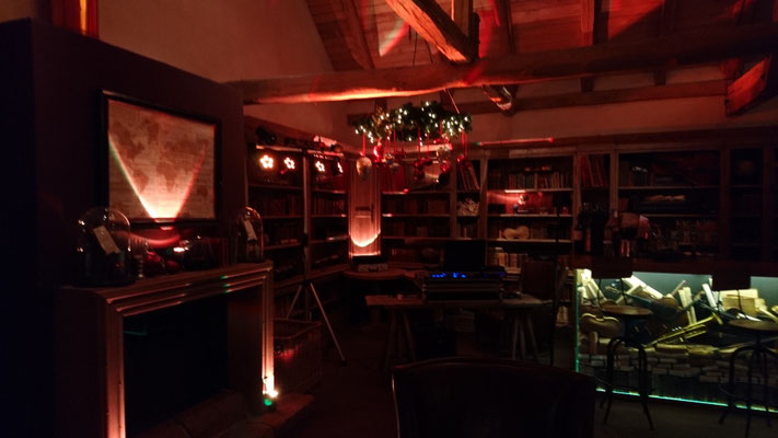 Weihnachtsfeier in der Kulturscheune des Hofguts Dagobertshausen
