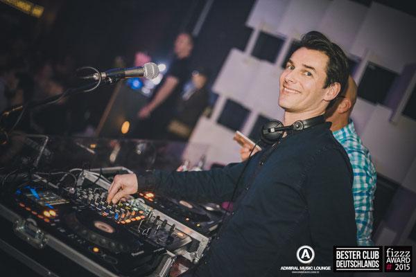 DJ Chris Sharp im Admiral Gießen