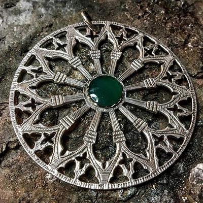 Rosone in argento 925