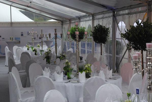 Veranstaltungslocation, Hochzeit im Zelt, Catering Freising und Umgebung