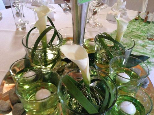 Tischdekoration, Private Feste, Hochzeitscatering Unterschleissheim