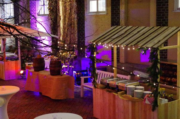 Marktstandl für Ihren Event oder Ihre Firmenfeier, www.genusskuenstler.de