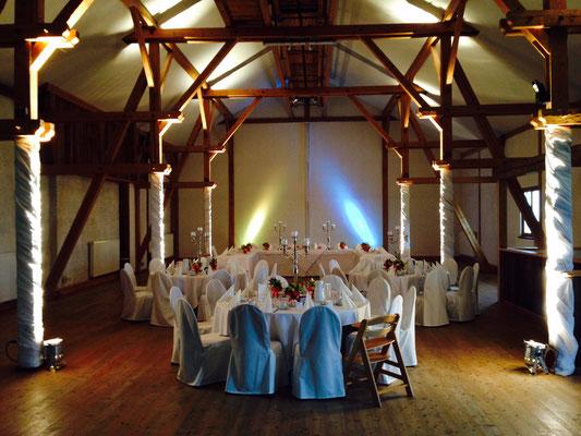 Hochzeitstafel in Gut Georgenberg