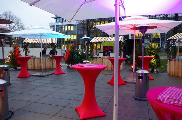 Cocktailbar für Ihre Weihnachtsfeier im Münchner Norden, www.genusskuenstler.de