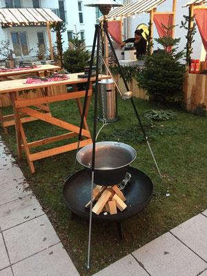 Rustikaler Weihnachtsmarkt, www.genusskuenstler.de