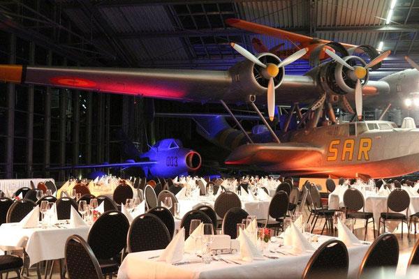 Abendevent mit den Genusskünstler in der Flugwerft Schleissheim